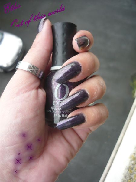 Orly Out of this world collection cosmic FX 2 couches