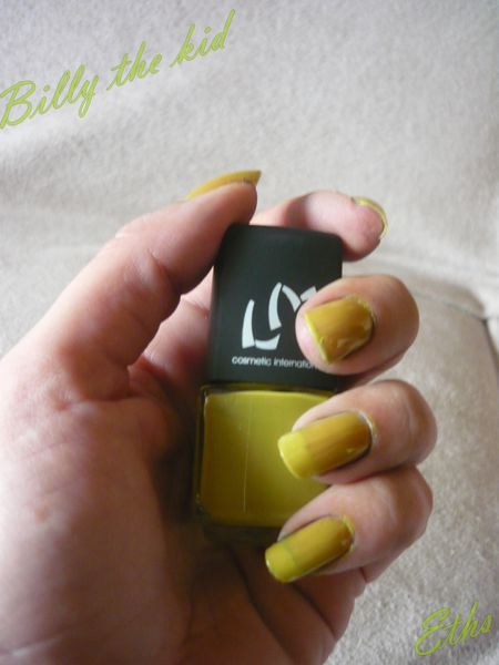 vernis LM cosmetic Billy the kid collection wester-copie-3