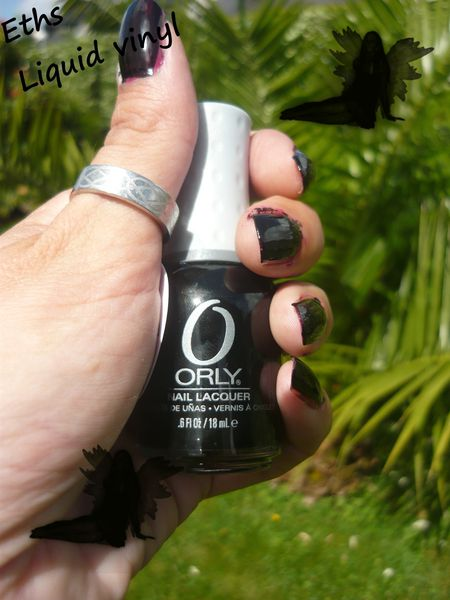 Orly liquid vinyl 2 couches
