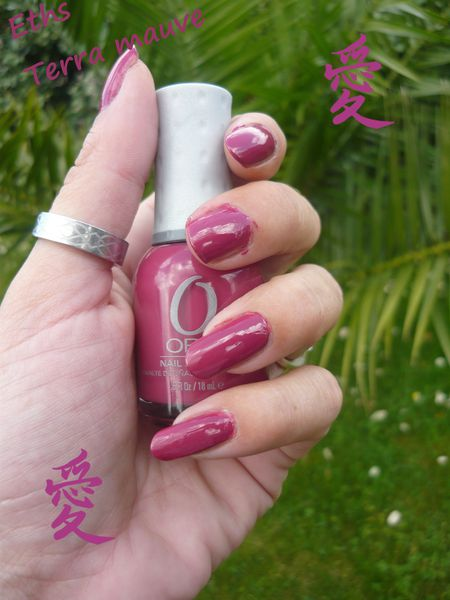 Orly terra mauve 2 couches