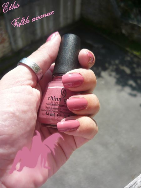 china glaze Fifth avenue 194 2 couches