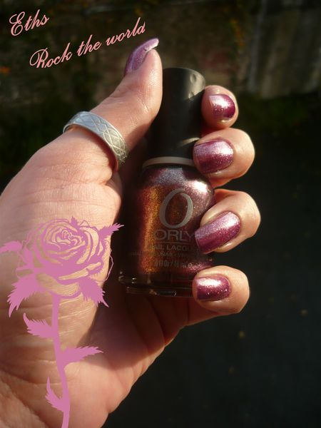 Orly Rock the world collection mineral fx 2 couches