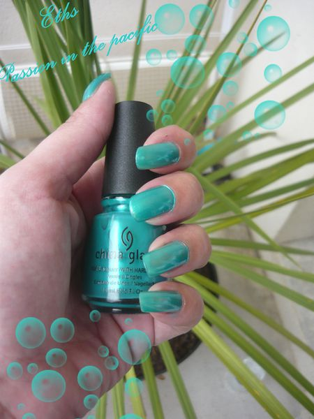 china glaze Passion in the pacific 561 collection fidji fli