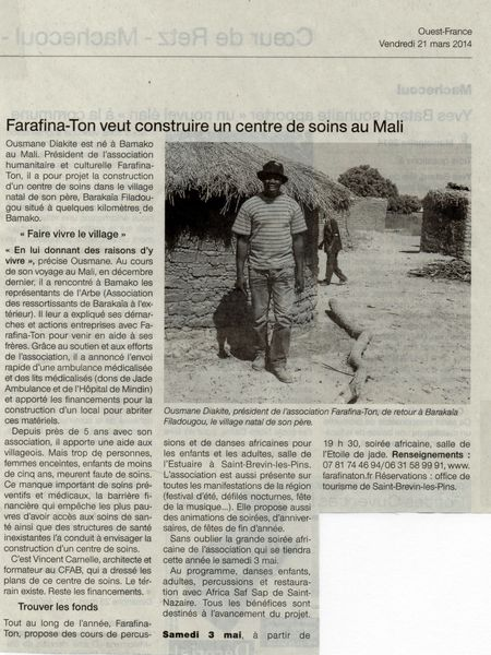 OUEST FRANCE MARS