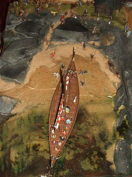 viking e diorama