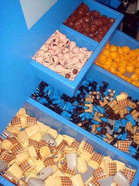 playmobil- les pièces