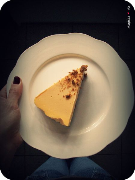 Butternut Cheesecake & spéculoos