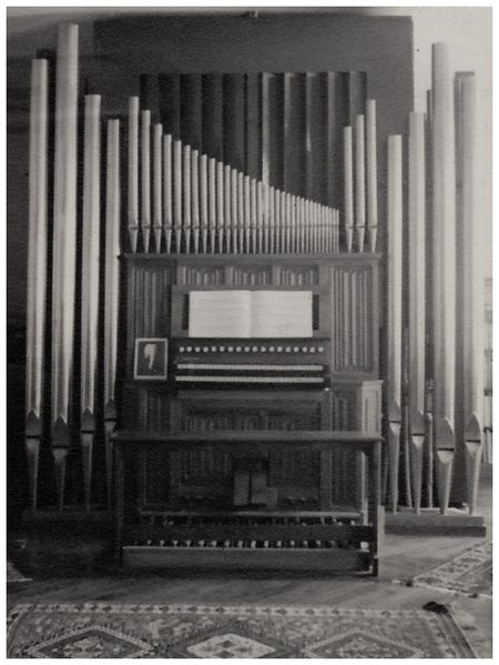 orgue Gonzalez Paris