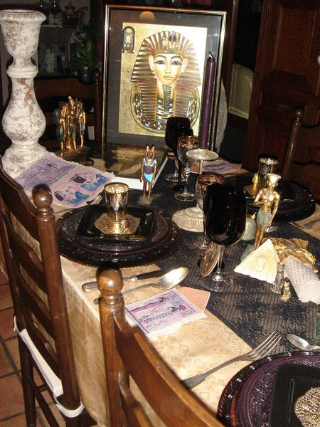 ma table egyptienne