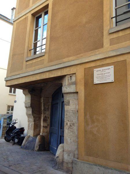 Hôtel de Bontemps 9 rue Roger-de-Nézot Saint-Germain-en-Laye