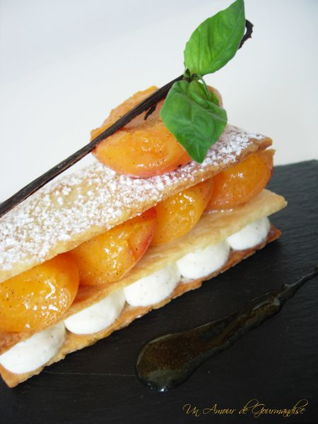 mille feuille abricot 1