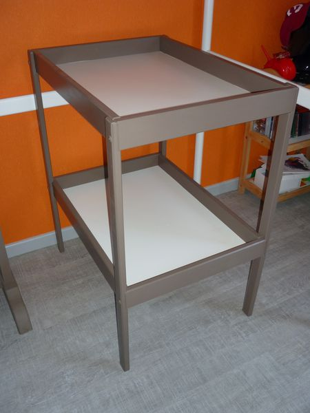 Ikea commode a langer cool cloud changing table top changer for ikea malm by - Table a roulettes ikea ...