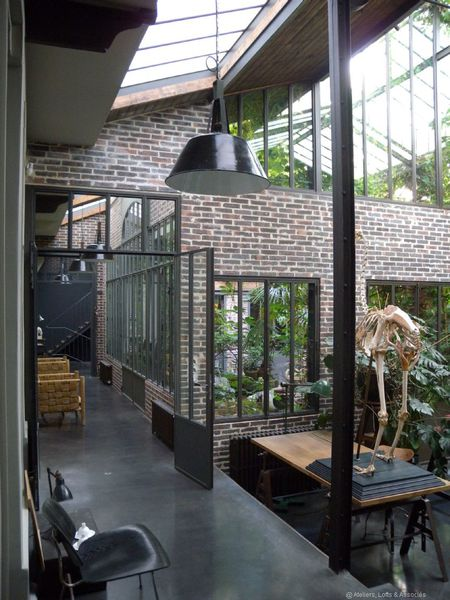 Loft avec jungle a part a - Loft et associes paris ...