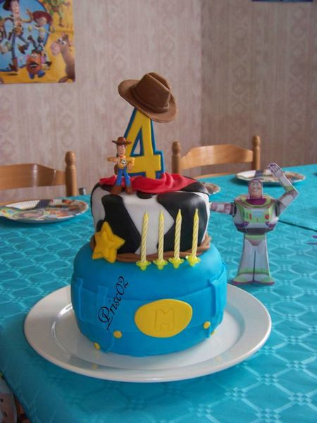 Gateau anniversaire Woody Toy Story3