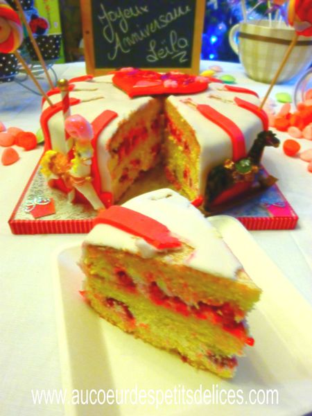 Recette Wedding Cake Fourrage Fruit