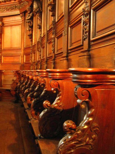 eglise des cordeliers-stalles