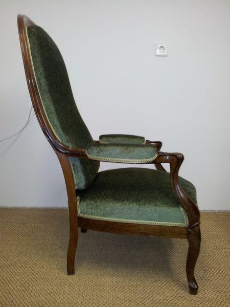 r fection d 39 un fauteuil voltaire tapissier d corateur grasse le blog de christapissier. Black Bedroom Furniture Sets. Home Design Ideas