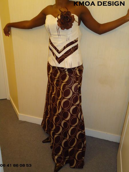 TENUE WAX ETHNIQUE AFRICAIN