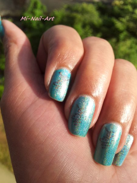 Top coat holo na asiat