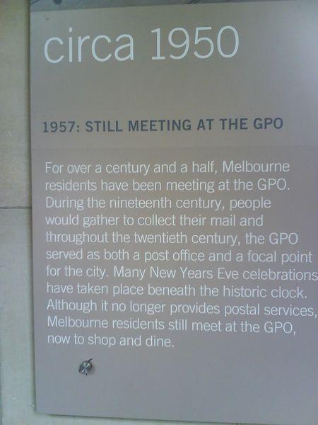 Melbourne post