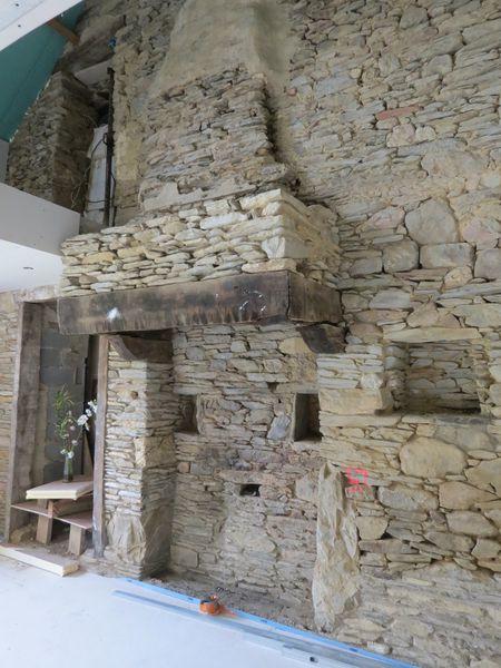 Maconnerie De La Cheminee Renovation D Une Longere Par Celine Amp