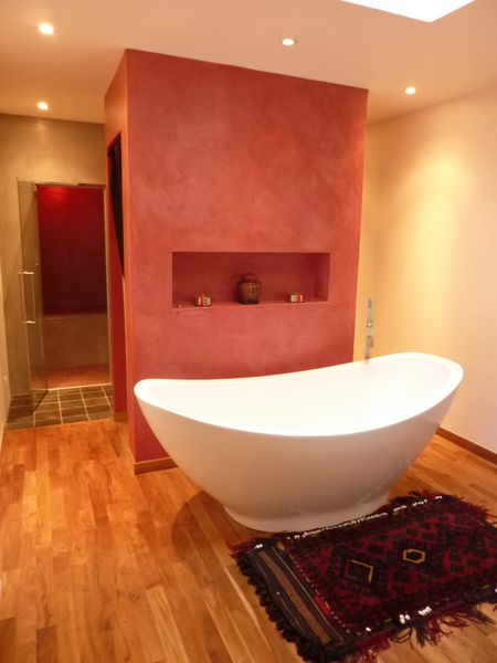 salle de bain douche hammam herve fleury decoration naturelle. Black Bedroom Furniture Sets. Home Design Ideas