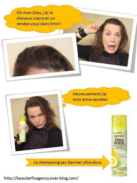 Le cheveu sec la chute de la raison