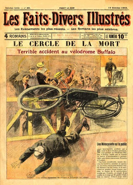 1906 Accident sur piste