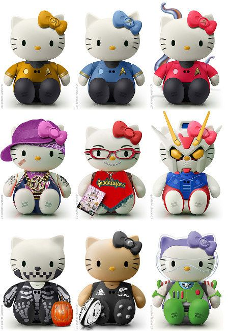 hello-kitty- Star Trek