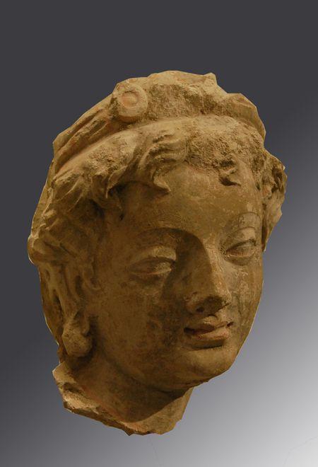 hadda monastere de tapa-i-Kafariha sculpture (2)