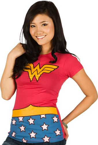 Wonder Woman Costume-T