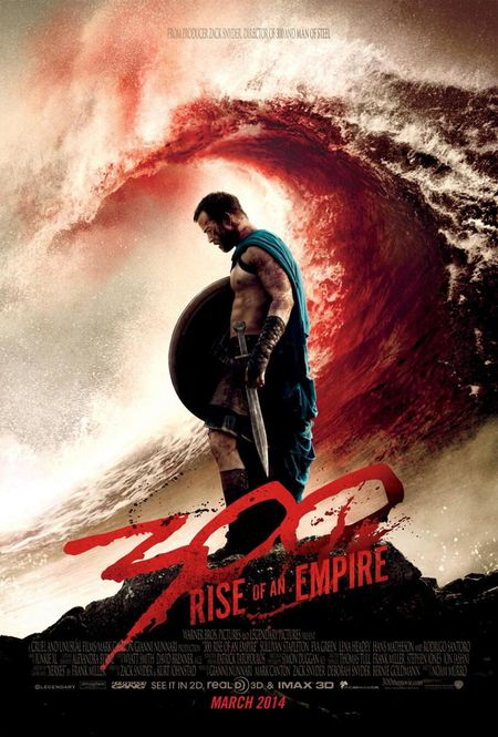 300 Rise of an Empire 300 La naissance d'un Empire affich