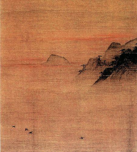 Ma Yuan painting paysage
