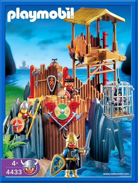 viking playmobil 4433