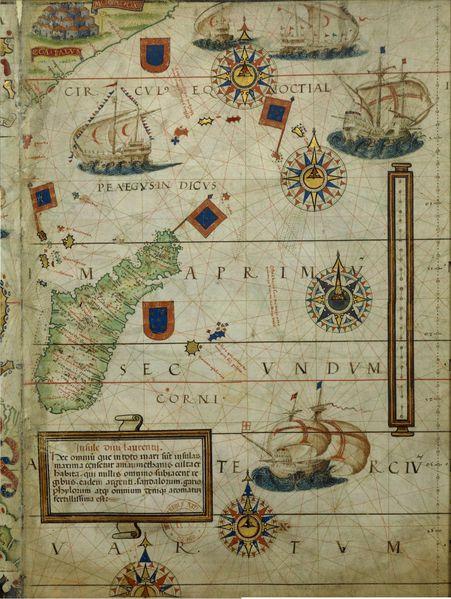Atlas Nautique Miller
