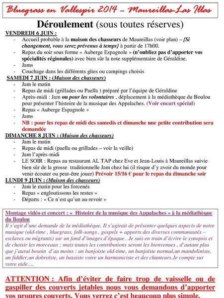 Déroulement - Mail2