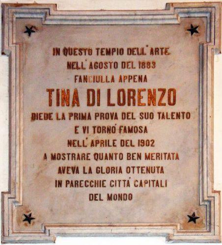 602k6a Noto, théâtre, Tina di Lorenzo