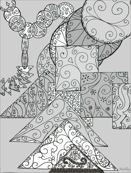Carrés,cercles et triangles