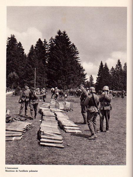 Munitions artillerie polonaise