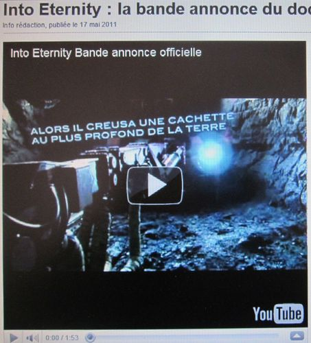 022 You Tube Bande annonce Into Eternity