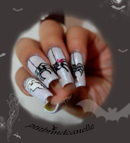 nail art halloween kawaii