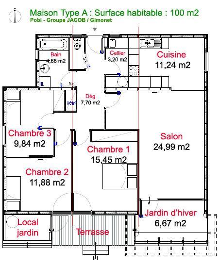 Construire sa maison pour 100 000 euros maison moderne for Construire une maison pour 200 000 euros