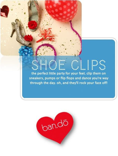 Oh Ballyhoo - der Bando shoe clips party pretty lookbook