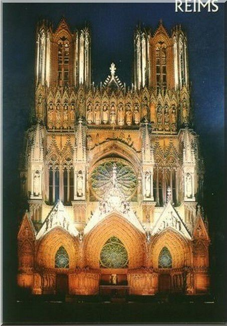 cathedrale de Reims, Marne , 54