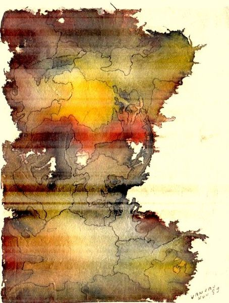 Novembre Peinture Papier Japon106