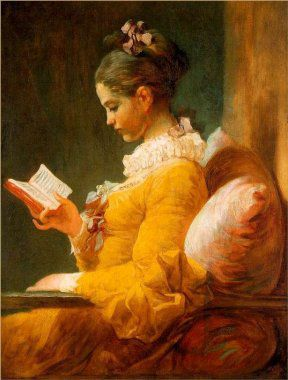 la lectrice-fragonard