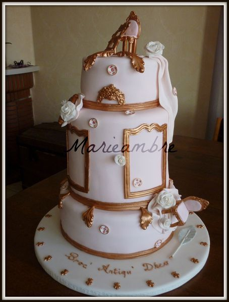 Photo gateau versailles