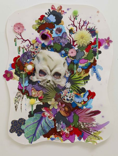 Alicia-Paz--Death-Mask--2013--Mixed-media-on-paper--65-x-49.jpg