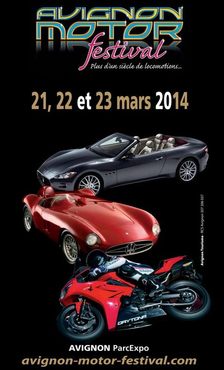 829 avignon motor festival du 21 au 23 mars 2014 passion moto. Black Bedroom Furniture Sets. Home Design Ideas