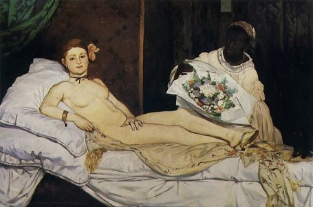 4 Manet 1863 Olympia Orsay